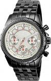 Invicta Men's Signature 44mm Chronograph Black Case, Silver Dial Watch 7169