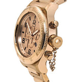 Invicta Men's Russian Diver Chrono Rose Gold Tone Stainless Steel Watch 15477