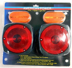 Trailer Light Kit 4 PC