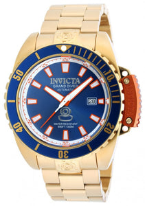 Invicta Men's Pro Diver Automatic 300m Gold Plated Stainless Steel Watch 19868