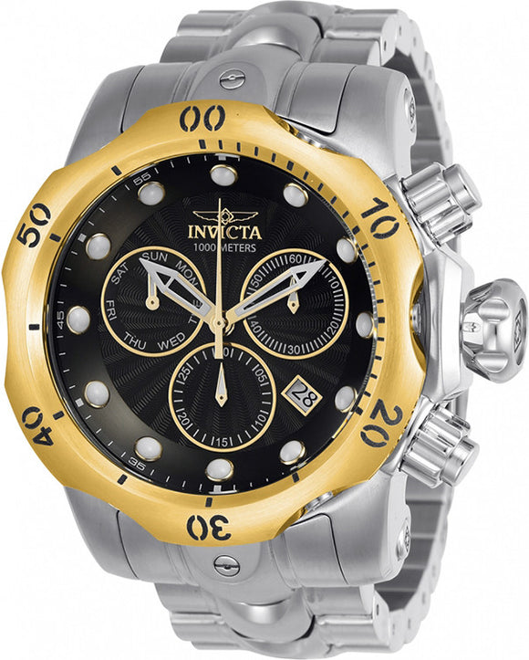Invicta Men's Venom Swiss Quartz Chronograph 1000m Stainless Steel Watch 23889