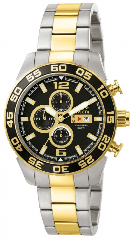 Invicta Men's Specialty Chronograph Two Toned Stainless Steel Watch 1015