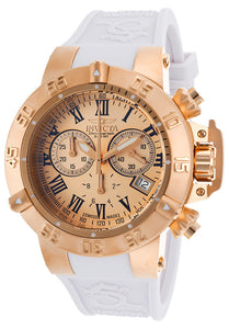Invicta Men's Subaqua Chronograph 500m Stainless Steel Silicone Watch 16878