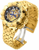 Invicta Men's Venom Chronograph 500m Gold Plated Stainless Steel Watch 16804