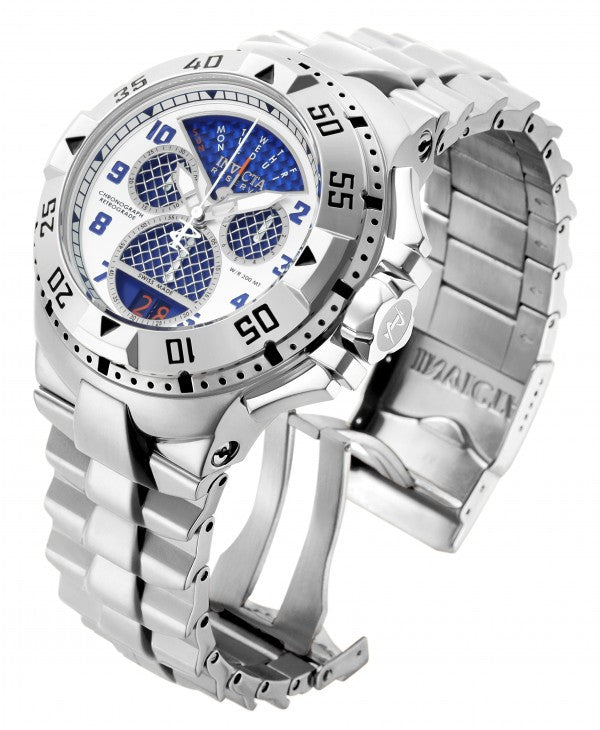 Invicta Men's Excursion Chronograph 200m Quartz Stainless Steel Watch 17469