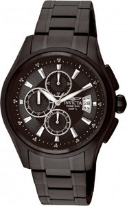 Invicta Men's Specialty Chronograph Quartz Black Stainless Steel Watch 1486