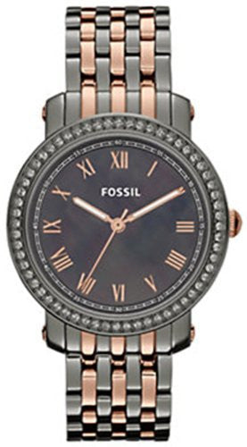 Fossil Emma Stainless Steel Watch Two-Tone ES3115