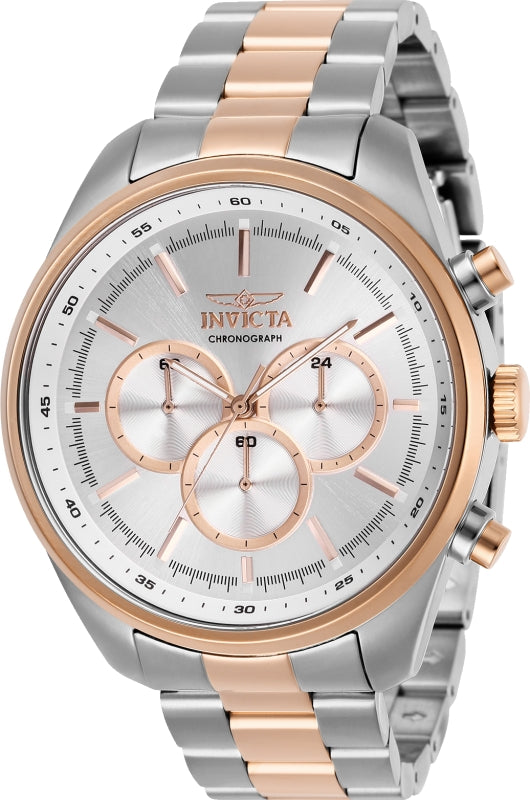 Invicta Men's Specialty Quartz Chronograph Stainless Steel Watch 29167
