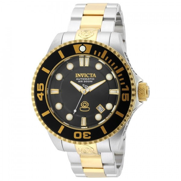Invicta Men's Pro Diver Analog Automatic 300m Stainless Steel Watch 19803