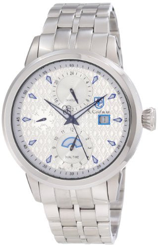 S. Coifman Men's Chronograph Quartz Date Stainless Steel Watch SC0209
