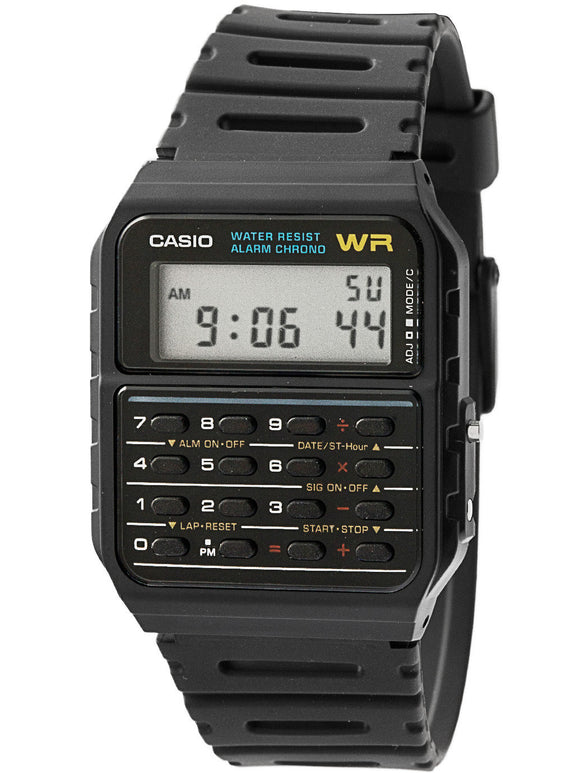 Classic Casio Sport Calculator Watch CA53W