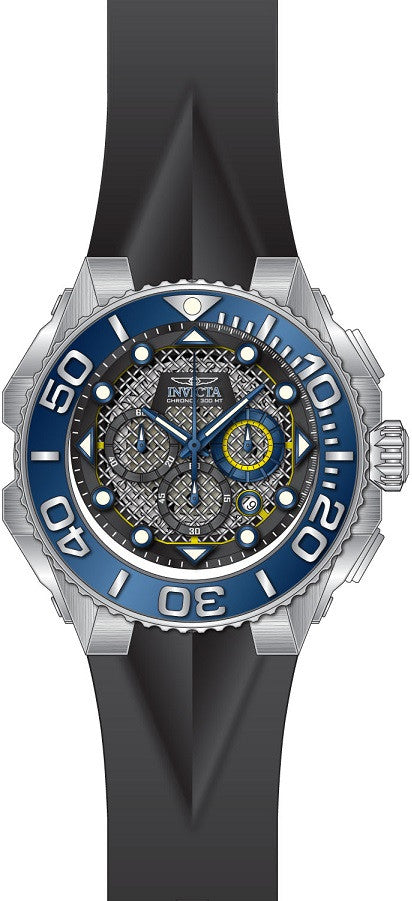 Invicta Men's Coalition Forces Quartz Chronograph Black Dial Watch 23959