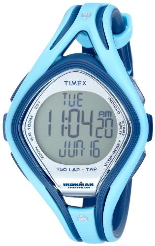 Timex Mid-Size T5K288 Ironman Sleek 150-Lap TapScreen Watch