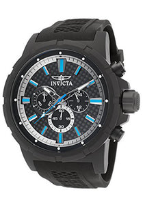 Invicta Men's TI-22 Chronograph Quartz Titanium Case Grey Silicone Watch 20451