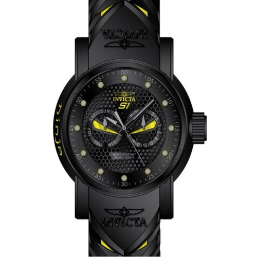 Invicta Men's S1 Rally Chronograph Stainless Steel and Silicone Watch 12789