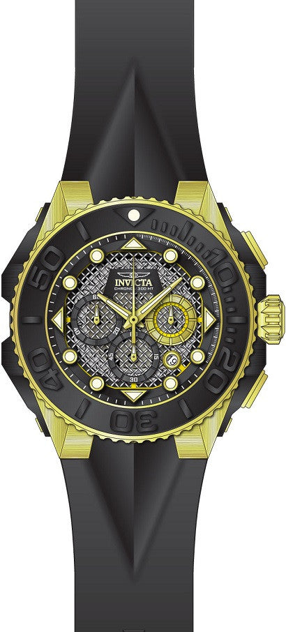Invicta Men's Coalition Forces Quartz Chronograph Black Dial Watch 23961