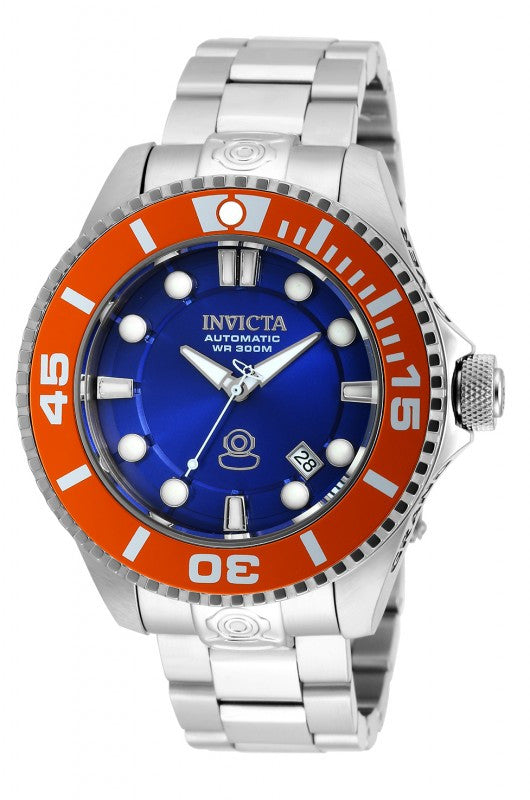 Invicta Men's Pro Diver Automatic 300m Analog Stainless Steel Watch 20174