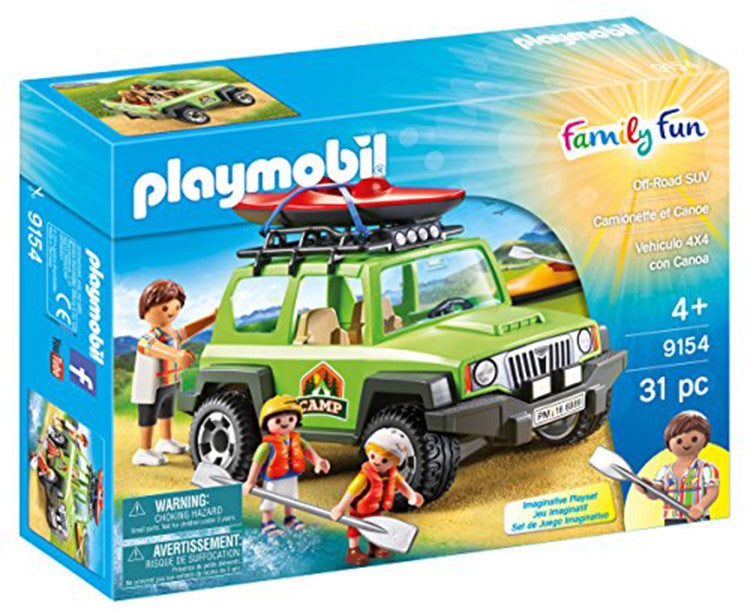 PLAYMOBIL Off-Road SUV 9154