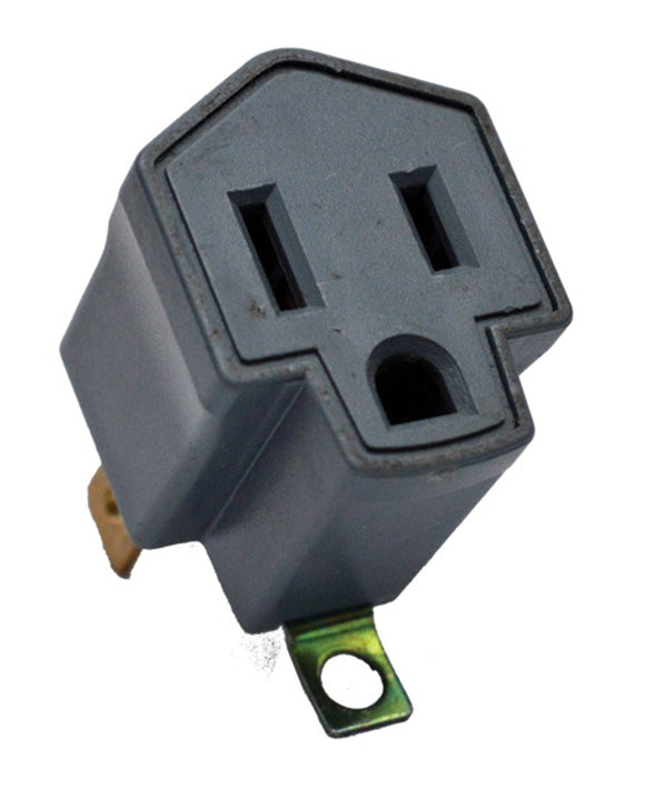 GoGreen 3-2 Wire Grounding Adapter 03408