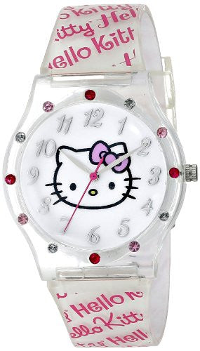 Hello Kitty Kids' HKAQ2797 Hello Kitty Analog Display Analog Quartz Two Tone Watch