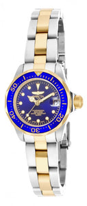Invicta Women's Pro Diver Quartz 200m Two Tone Stainless Steel Watch 17035