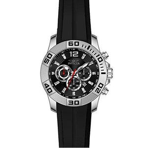 Invicta Men's Pro Diver Chronograph 100m Black Silicone Watch 20294