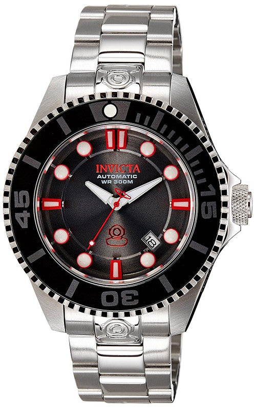 Invicta Men's Pro Diver Analog Automatic 300m Stainless Steel Watch 19802