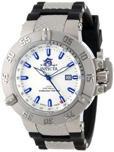 Invicta Men's Subaqua 500m Stainless Steel Black Polyurethane Watch 13920