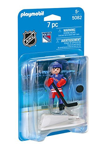 Playmobil Sports and Action NHL New York Rangers Player (for kids 5 & up) 5082
