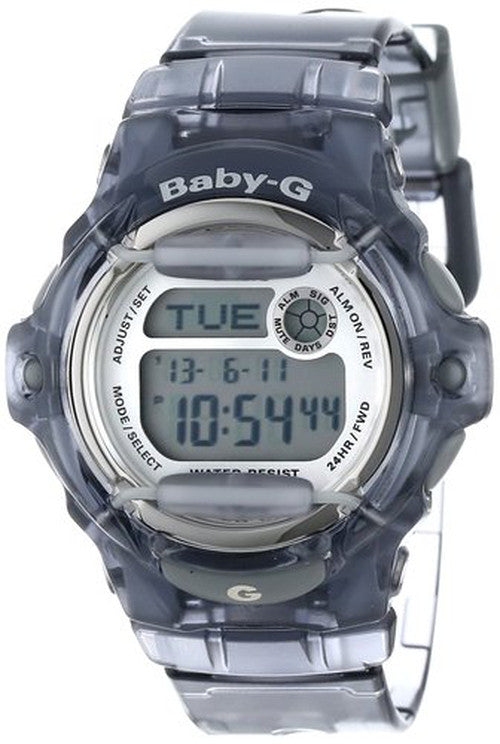 CASIO BABY-G GRAY SHOCK RESISTANT WATCH BG169R-8
