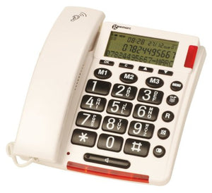Geemarc Amplified Corded Telephone with Talking Caller ID AmpliVOICE50
