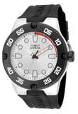 Invicta Men's Pro Dive 50m Stainless Steel Silicone Black Watch 18023