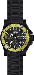 Invicta Men's Excursion Chronograph Black Stainless Steel Watch 23906