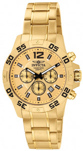 Invicta Men's Specialty Chronograph Gold Plated Stainless Steel Watch 1503