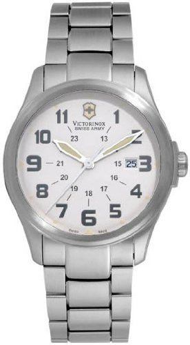 Victorinox Swiss Army Men's 241293 Infantry Vintage White Dial Watch