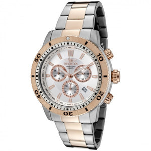 Invicta Men's Specialty Chronograph Quartz Two Toned Stainless Steel Watch 1204