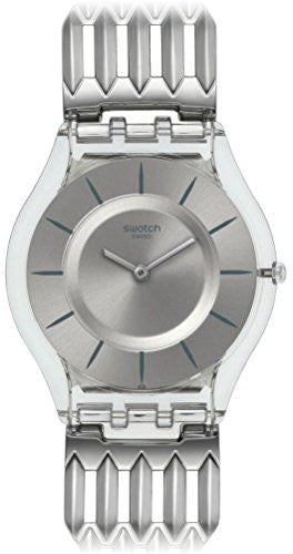 Swatch Women's Furious Analog Quartz Plastic/Stainless Steel Watch SFK396G