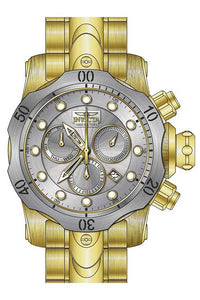 Invicta Men's Venom Quartz Chronograph Antique Silver Dial Watch 23893