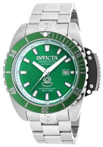 Invicta Men's Pro Diver Analog Automatic 300m Stainless Steel Watch 19867