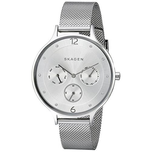Skagen Women's SKW2312 Anita Analog Display Analog Quartz Silver Watch