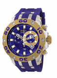 Invicta Men's Subaqua Chrono 500m Stainless Steel Blue Polyurethane Watch 0909