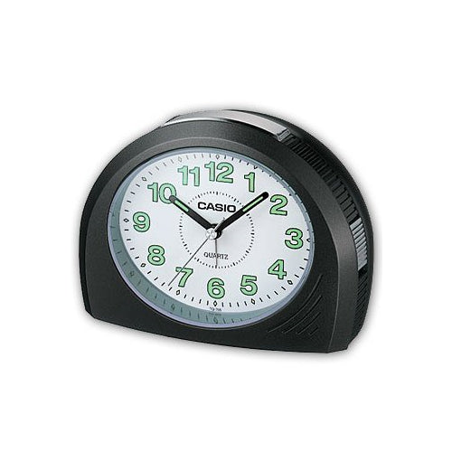 Casio TQ358-1D Bell Desktop Alarm Clock with Snooze Luminous markers