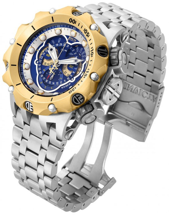 Invicta Men's Venom Chronograph 500m Two Toned Stainless Steel Watch 16808