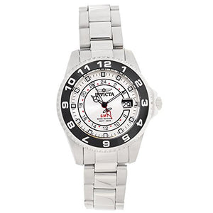 Invicta Men's Pro Diver Quartz 200m Silver Dial Stainless Steel Watch 18239