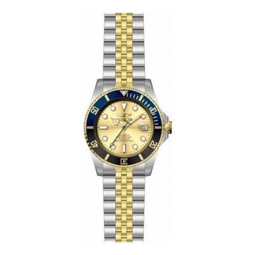 Invicta Men's 29181 Pro Diver Automatic 3 Hand Gold Dial Watch