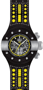 Invicta Men's S1 Rally Chrono Stainless Steel, Leather, Polyurethane Watch 19177