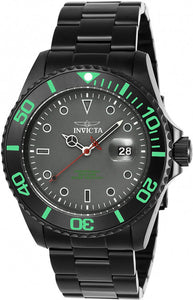 Invicta Men's Pro Diver Quartz 3 Hand Grey Dial Watch  23009