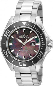 Invicta Men's Pro Diver Stainless Steel Silver-Tone Garnet Dial Casual Watch 23068