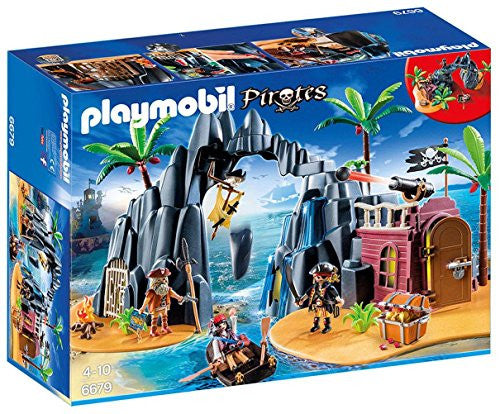 Playmobil Pirate Treasure Island 6679 (for Kids 4 to 10)