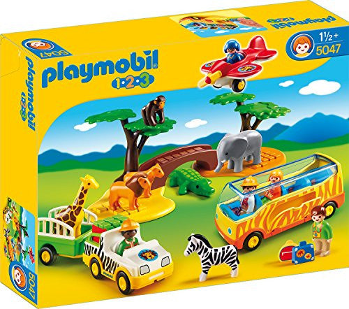 Playmobil 1-2-3 Large African Safari 5047 (for Kids 18 months and above)